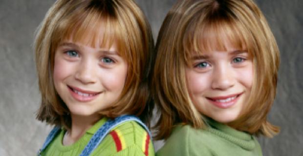 gemelle olsen da bambine